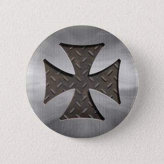 Steel Maltese 416 Pinback Button