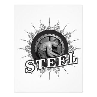 steel man yeah letterhead