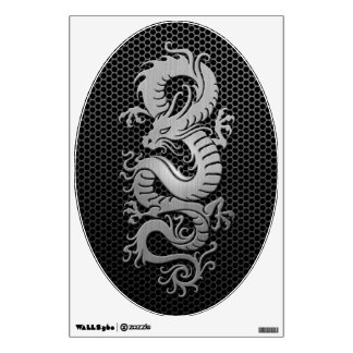 Steel Mesh Chinese Dragon Room Decals