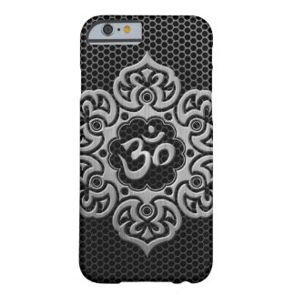Steel Mesh Floral Om Barely There iPhone 6 Case