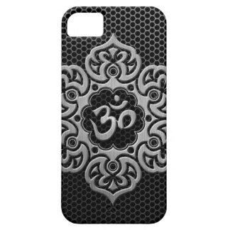 Steel Mesh Floral Om iPhone SE/5/5s Case