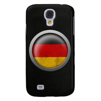 Steel Mesh German Flag Disc Graphic Galaxy S4 Cover