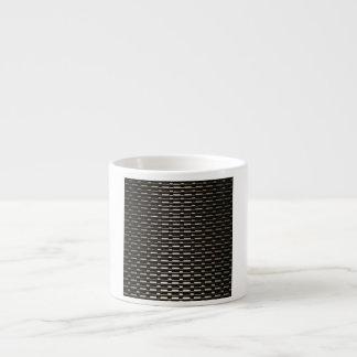 Steel Mesh industrial pattern Espresso Cup