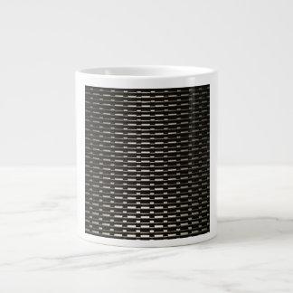 Steel Mesh industrial pattern Large Coffee Mug