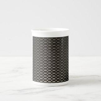 Steel Mesh industrial pattern Tea Cup