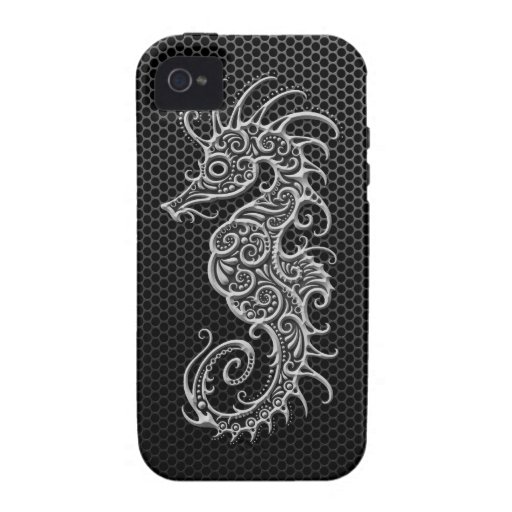 Steel Mesh Seahorse Case For The iPhone 4