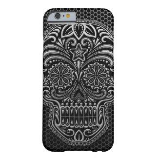 Steel Mesh Sugar Skull iPhone 6 Case