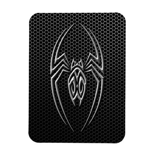 Steel Mesh Tribal Spider Magnet