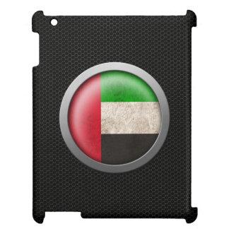 Steel Mesh United Arab Emirates Flag Disc Graphic iPad Cases