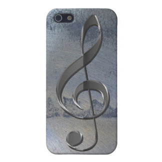Steel Metal-effect Music-lover iPhone 4 Case