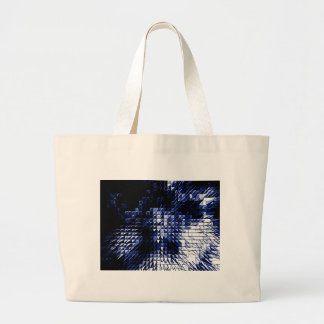 Steel Metal Glossy Fine Digital Art Beautiful Ligh Tote Bags