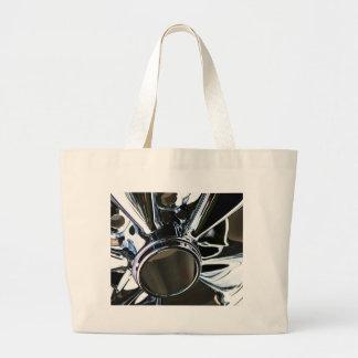 Steel Metal Glossy Fine Digital Art Beautiful Ligh Canvas Bag