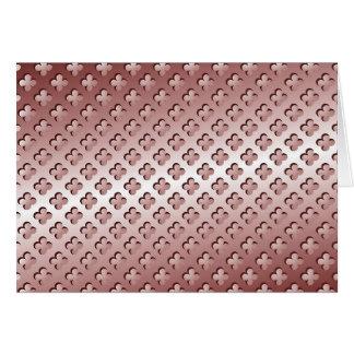 Steel Metal Glossy Fine Digital Art Beautiful Ligh Card