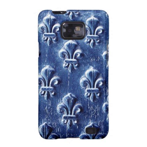 Steel Metal Glossy Fine Digital Art Beautiful Ligh Galaxy S2 Cases