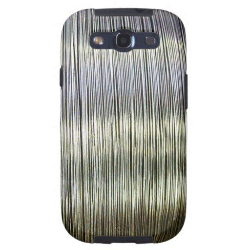 Steel Metal Glossy Fine Digital Art Beautiful Ligh Galaxy S3 Covers
