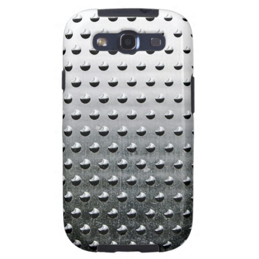 Steel Metal Glossy Fine Digital Art Beautiful Ligh Samsung Galaxy SIII Case