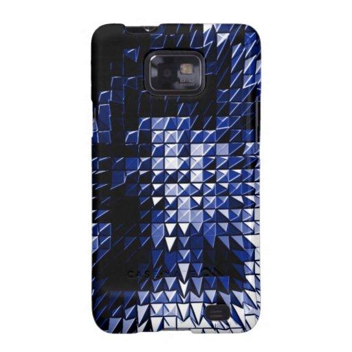 Steel Metal Glossy Fine Digital Art Beautiful Ligh Galaxy SII Cases