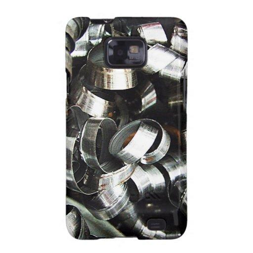 Steel Metal Glossy Fine Digital Art Beautiful Ligh Samsung Galaxy S2 Cases