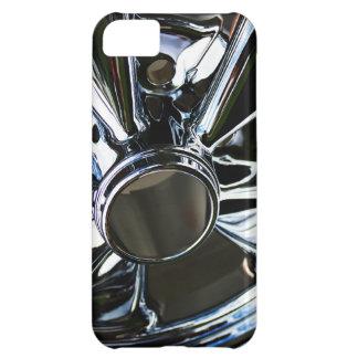 Steel Metal Glossy Fine Digital Art Beautiful Ligh Cover For iPhone 5C