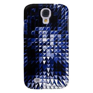 Steel Metal Glossy Fine Digital Art Beautiful Ligh Samsung Galaxy S4 Cover
