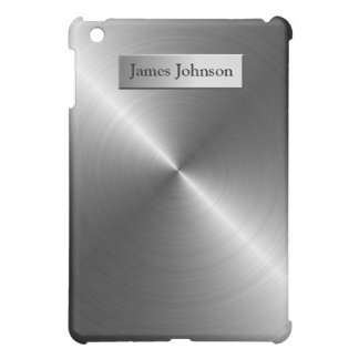 Steel Metal Look iPad Case