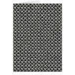 Steel Metal Mesh Pattern (faux) Greeting Cards