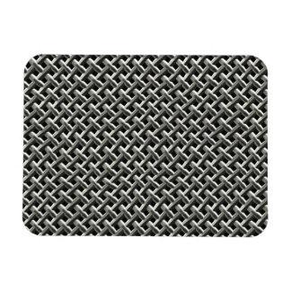 Steel Metal Mesh Pattern (faux) Magnet
