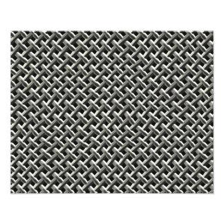 Steel Metal Mesh Pattern (faux) Photo Print