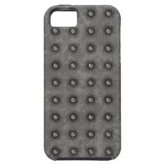 Steel Metal Studs Pattern iPhone 5 Case