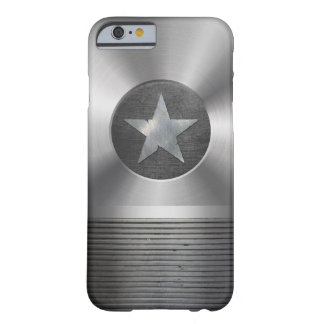 Steel & Metal Superhero Star Shield Barely There iPhone 6 Case