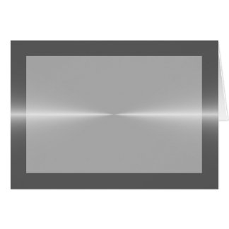 Steel Metallic Background Card
