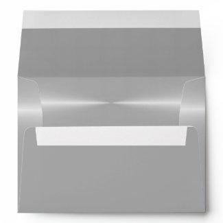 Steel Metallic Background envelope