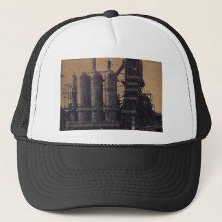 STEEL MILL U.S.A. TRUCKER HAT