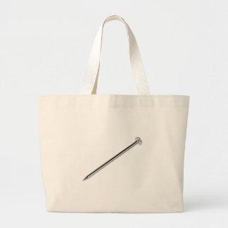 Steel nail large tote bag