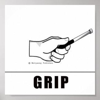 Steel Pan Mallet Grip Poater Poster