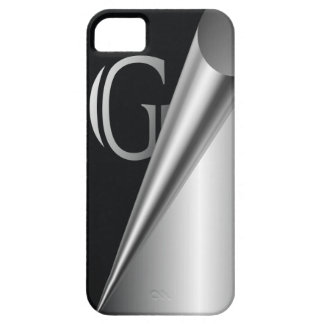 "Steel Peel Monogram ""G"" iPhone SE/5/5s Case"