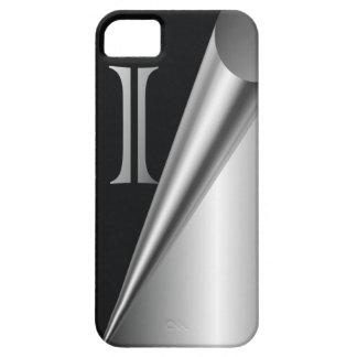 """Steel Peel Monogram """"I"""" iPhone SE/5/5s Case"""
