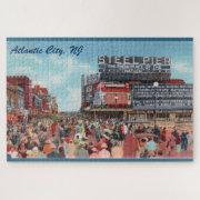Steel Pier - Atlantic City Large Puzzle