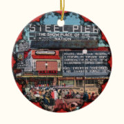 Steel Pier - Atlantic City Victorian Ornament