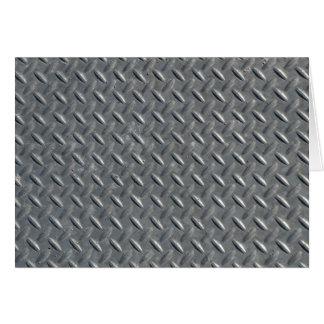 Steel Plate Blank Card