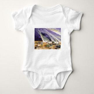 Steel Rain Desert Storm Missles by Frank M. Thomas Baby Bodysuit