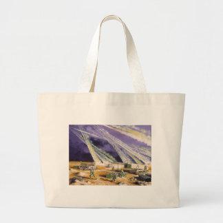 Steel Rain Desert Storm Missles by Frank M. Thomas Canvas Bag