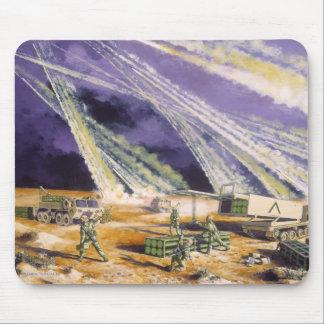 Steel Rain Desert Storm Missles by Frank M. Thomas Mousepad