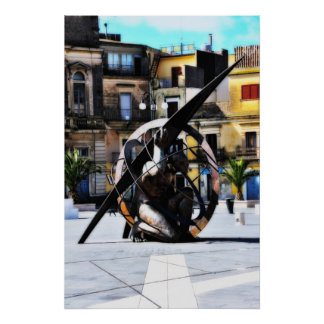 Steel Sculpture Posters