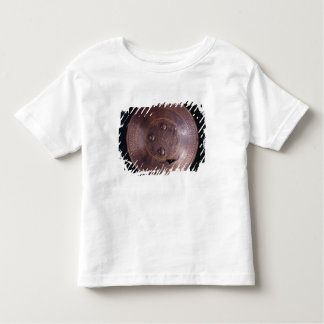 Steel shield with intricate gold decoration toddler t-shirt