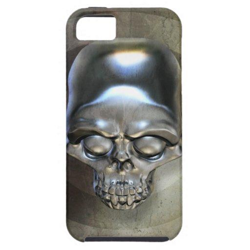 Steel Skull iPhone 5 Case