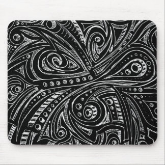 Steel snakes mouse pad
