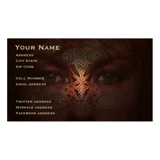 Steel Soul Business Card Templates