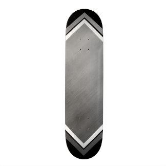 Steel Speed Look Gray White Customizable 1 Skateboard