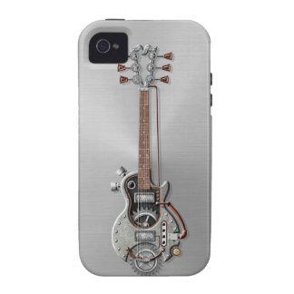 Steel Steampunk Guitar Case-Mate iPhone 4 Cover
